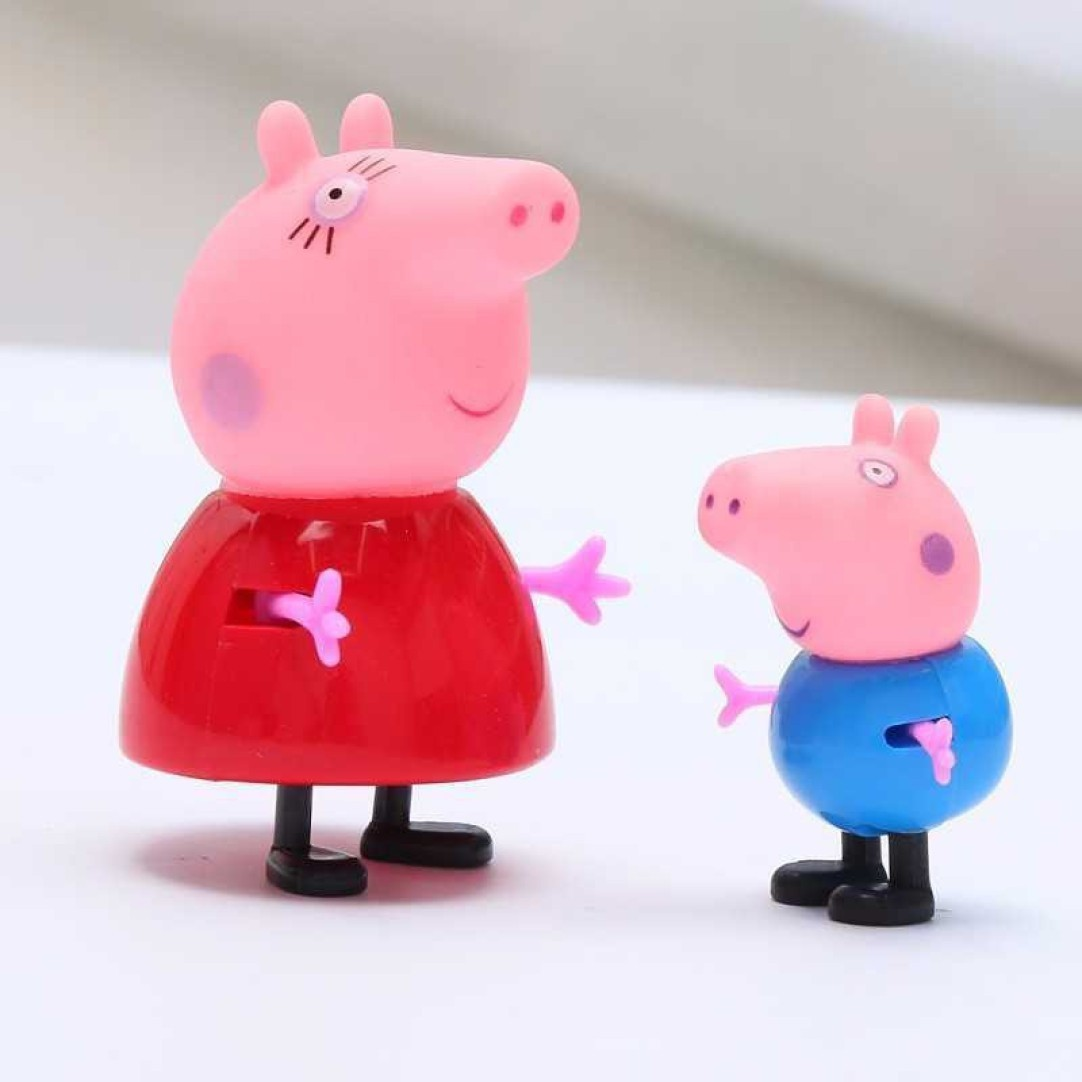 Peppa Pig Figures - Original Peppa Pig Toy and Family Character's For Kids Age 2+
