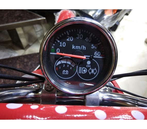 36V Battery Dirt Bike For Kids with Speedo Meter and 3 Speed Controller,front Light Age 6 to 14 years(Red)