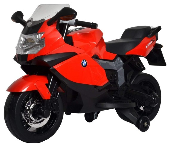 PP Infinity  BMW K1300S 12V Bike with Hand Race, Rechargeable Bike for kids (3 to 7 yrs) BMW Battery Operated Ride on Bike