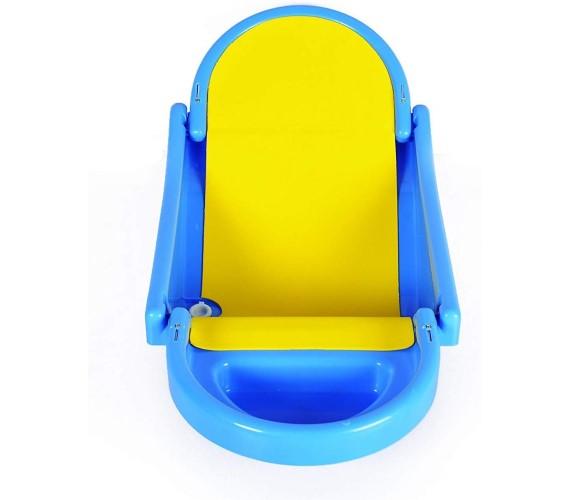 PP INFINITY Baby Bath Tub Foldable Plastic Baby Bath Tub with Anti Slip Base(Age 0-1 yrs)Blue