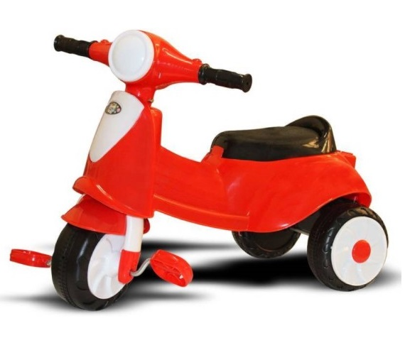 VESPA TRICYCLE RED