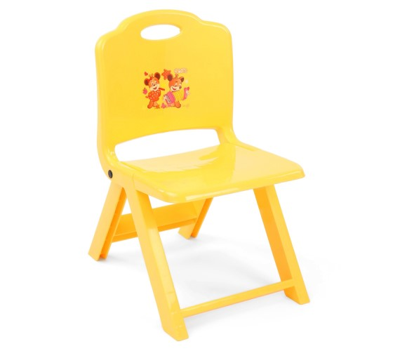 PP INFINITY Kids Foldable Chair With Cartoon Printed Foldable Chair For kids-(Multicolor)
