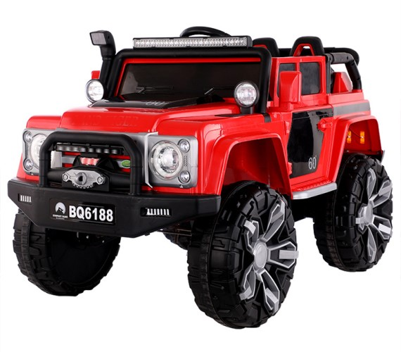 PP INFINITY Battery Operated Rechargeable Jeep Ride On For Kids with Remote Control and Music System, Model BQ6188 Kids Electric jeep