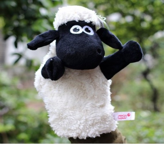 Hand Puppet (Sheep) 21cm Height