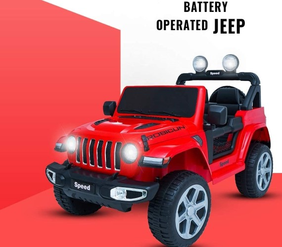 PP INFINITY Rubicon (copy) 12V Electric  Battery Operated Ride On Jeep For Kids With Remote Control - Red
