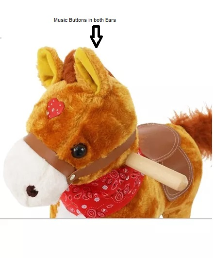 Musical Toy Horse, Horse for Kids Age 1 to 4