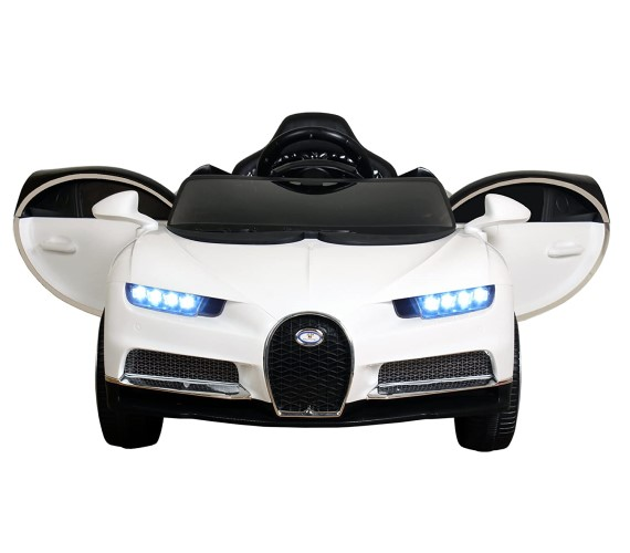 PP INFINITY Bugatti Battery Operated Car For Kids , Battery Operated Bugatti Ride On Car for Kids (2 to 6YRS) White