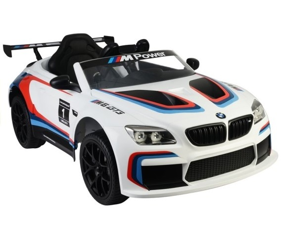 BMW M6 Car for Kids Licensed Model Battery Operated Car For Kids, Rechargeable With Remote Control Car (Age 1 - 6 years)