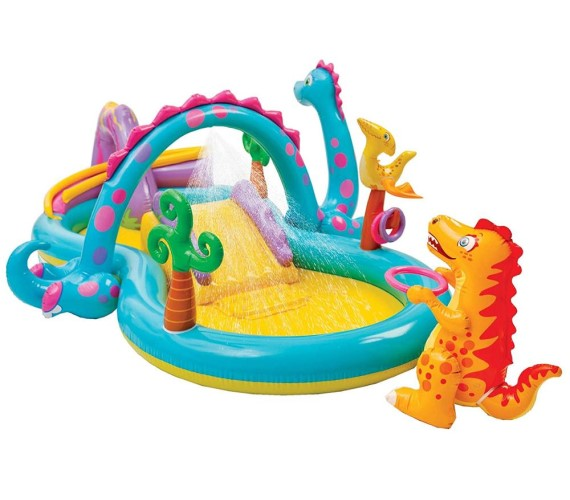 Dinoland Play Center Swimming Pool For Kids,  Inflatable Swimming Pool(Multicolor)