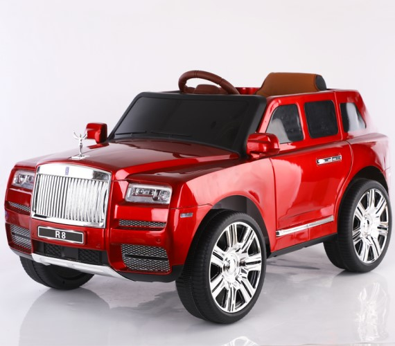 Rolls Royce Toy Jeep 12V Battery Operated Ride on Jeep For Kids With Remote Control Electric Motor Jeep Suitable Babies For Boys & Girls Age 2-8(Red)