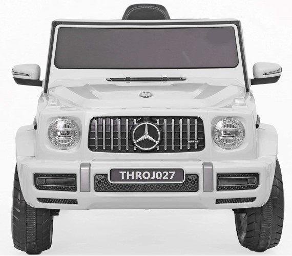 Benz AMG G63 Battery Operated Ride On Jeep with Remote control for Kids (2 to 5years ), White