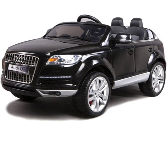 Audi Q7 Licensed Battery Operated Ride on - Q7 battery ride on (Black)