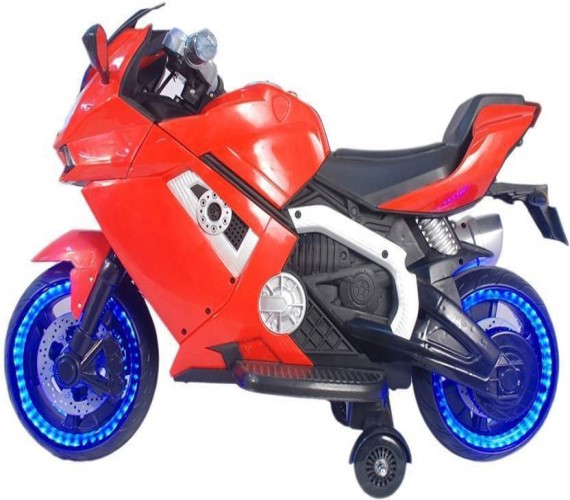 Lamborghini Superbike Rechargeable Battery Operated Ride-on Bike For Kids (Red)