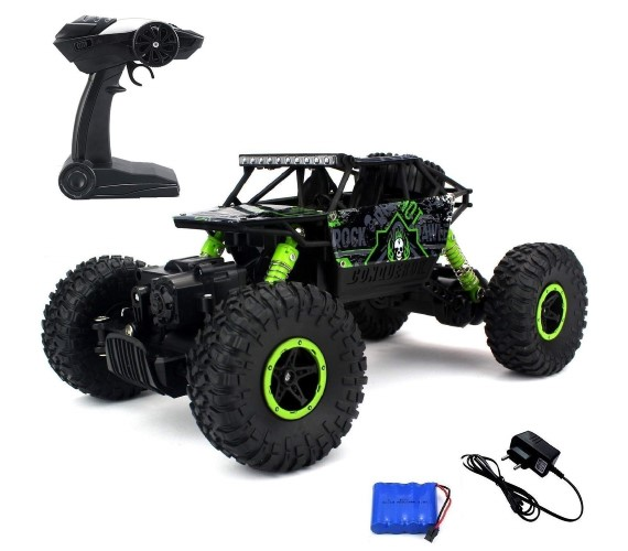 Remote Control Car for Kids , 4x4 RC Toys Monster Truck for Kids(Green)