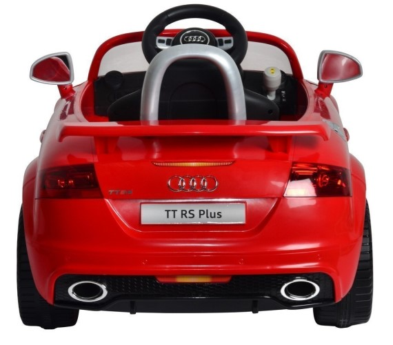 Audi TTrs Plus Licensed Model Car For Kids, Battery Operated Rideon Car For Kids , Electric Car for kids, Age 1-5 Years (Red)