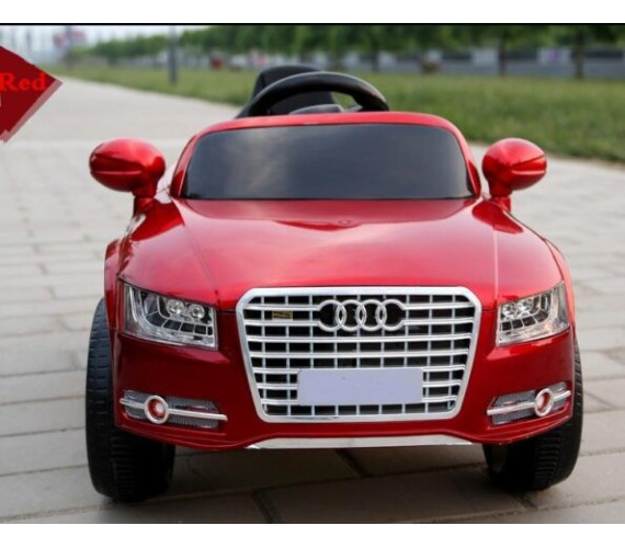 PP INFINITY Audi A8 Car For Kids' Battery Operated Ride on  Car For Kids With Remote Control ( Metallic Red )