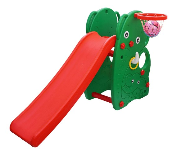 PP INFINITY Elephant Garden Baby Slide and Swing  Combo for Kids Outdoor Garden at Home and School Age 2-5(Multicolor)