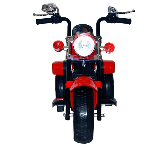 Mini Battery Operated  Bullet Bike For Kids ,Rechargeable Battery Operated Ride on Electric Bike(2-5 years) Red