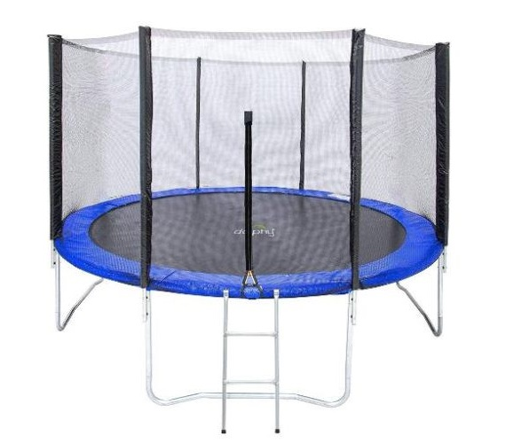 10 Feet / 12 Feet Trampoline with Enclosure - 10 /12 ft Trampoline