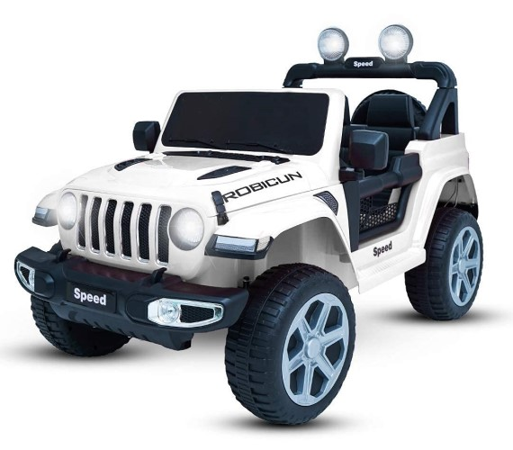 PP INFINITY Rubicon (copy) 12V  Electric  Battery Operated Ride On Jeep For Kids With Remote Control - White