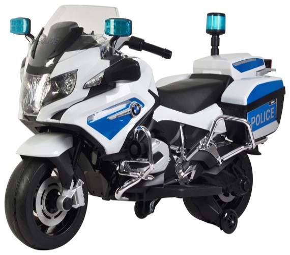 BMW Police Bike For Kids, Officially BMW R 1200 RT Police Motorcycle Licensed Bike For Kids 12V Battery Operated.