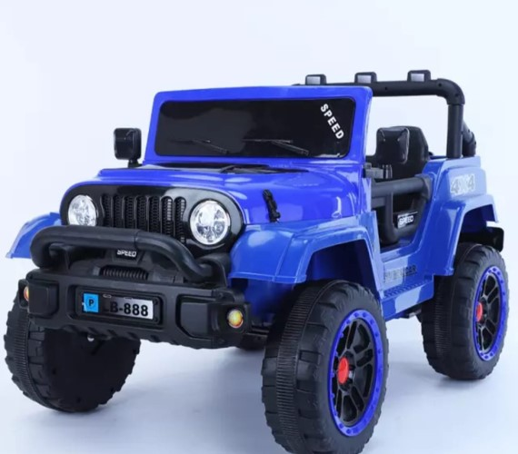 PP INFINITY LB-888 Battery Operated Ride on Jeep For Kids , Rechargeable Jeep With Remote Control (Multicolor)