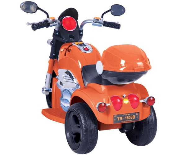 1188 Strike Bike For Kids, Battery Operated Ride On mini Bike For Kids  (2-4 years) Orange