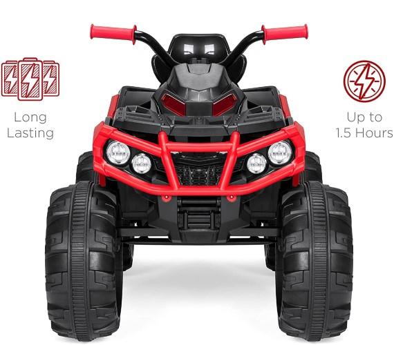 PP INFINITY ATV 12V Battery Operated Ride on Bike For Kids(Buggy) Kids 12V ATV Bike (ATV1388)-Red