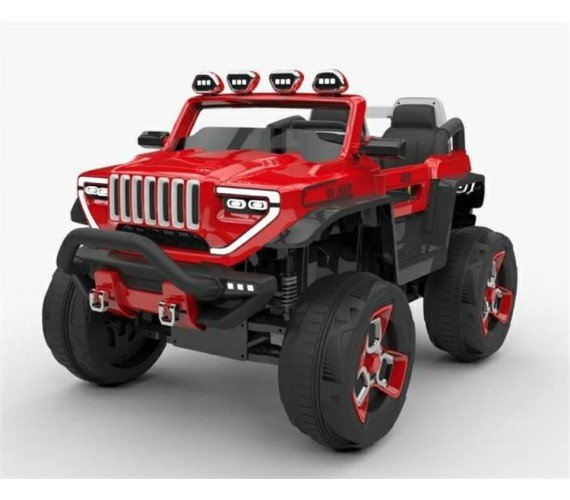 Small Size Hummer 1200 Electric Ride On Jeep For Kids with Rechargeable Battery , Swing Function And Music System with Remote Control (2 to 6 years)Multicolor