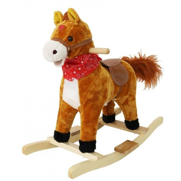 Wooden Horse For Kids - Lakdi Ki Kati - Cowboy Horse Toy (Age 1 to 3 years)