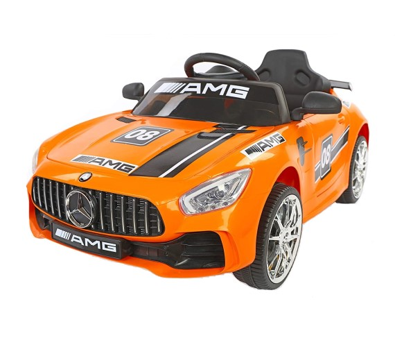 Futuristic Benzy AMG Battery Operated Ride On Car For Kids (1 to 5 yrs) Orange