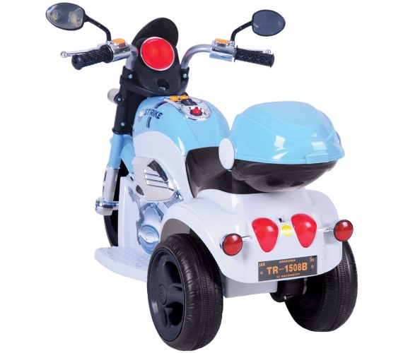 PP INFINITY 1188 Strike Bike For Kids, Rechargeable Battery Operated Ride On mini Bike (2-4 years) Multicolor