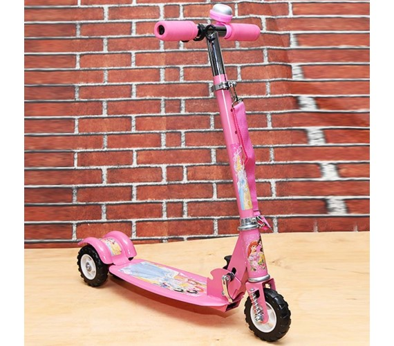 3 Wheel Tractor Scooter for Kids 3 to 9 Years 3 Adjustable Height, Foldable & Weight Capacity 50 kg Kick Scooter(Pink)