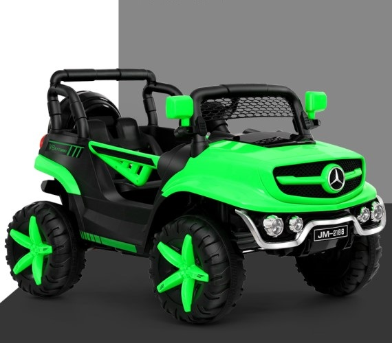 PP INFINITY JM 2188 Electric jeep, 12V Battery Operated Ride on Jeep for Kids With Remote Control and Music(Multicolor)