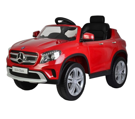 Mercedes Benz GLA Toy Car , GLA Battery Operated Ride On Car For Kids With Rechargeable 12V Battery with Parental Remote Control.(Red)
