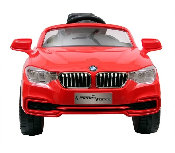 PP INFINITY Officially Licensed BMW 4 Series Coupe 12V Battery Operated Ride on Car, Electric Car For Kids With Remote Control And Music System-Red