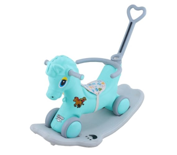 PP INFINITY 2 in 1 Baby Ride on Horse For Kids , Rider and Rocker Horse  for Kids(Age 1 to 3yrs)-Multicolor