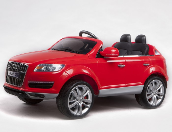 Kids Audi Q7 Licensed Model 12V Battery Operated Ride On Car (Red)