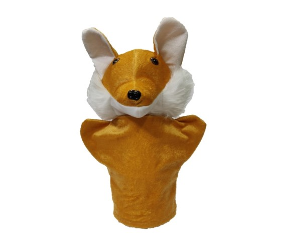 Hand Puppet soft Toy (Fox) Height 21 cm
