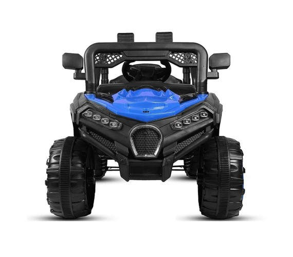 Kids 12V Battery Operated Electric  Ride on Jeep With Remote Control And Music System Model 909 (Blue)
