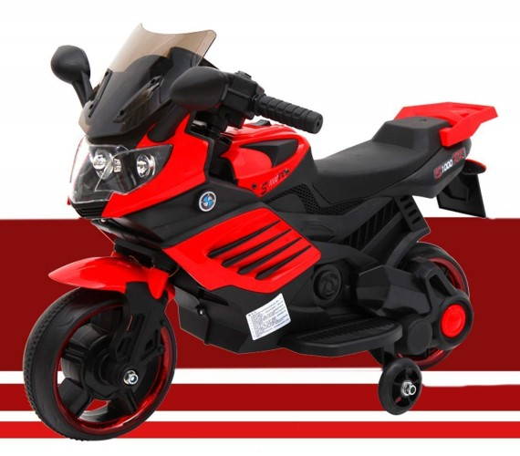 Mini BMW Bike Rechargeable Battery Operated Ride-on Bike For Kids With  Hand Accelerator(2to 4) Red