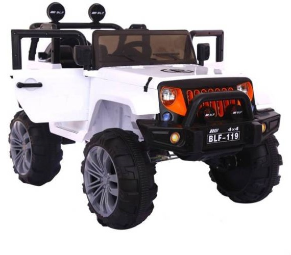 HEAVY DUTY 4X4 Jeep For Kids (Special Design for Commercial Use) , 5 Motors ,12V Battery Operated Ride on Jeep Car For Kids Age 2 to 7 Years ,Max User Weight 60 Kg