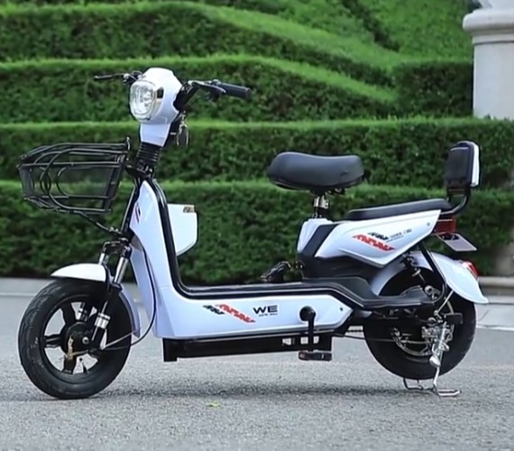 PP INFINITY Electric Scooter Yulu Bike , 48V Battery Scooter For adult, Yulu Bike With Pedal (Up to 50 kms)-White