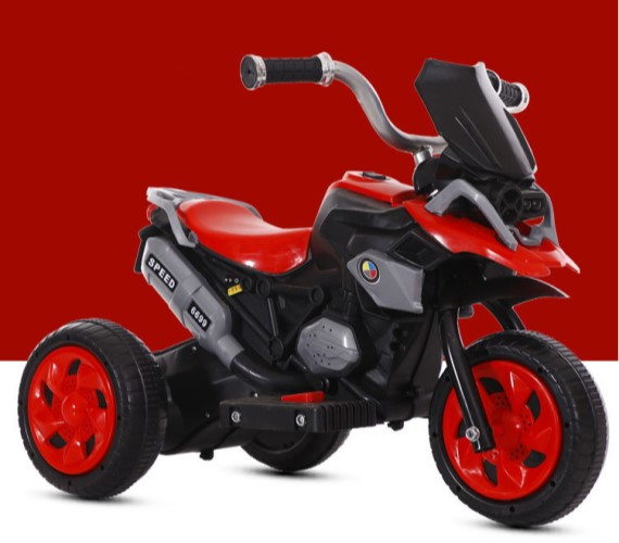 Kids BMW 1200GS Battery Operated Ride On Bike For Kids, Foot Accelerator(2-4years)Red