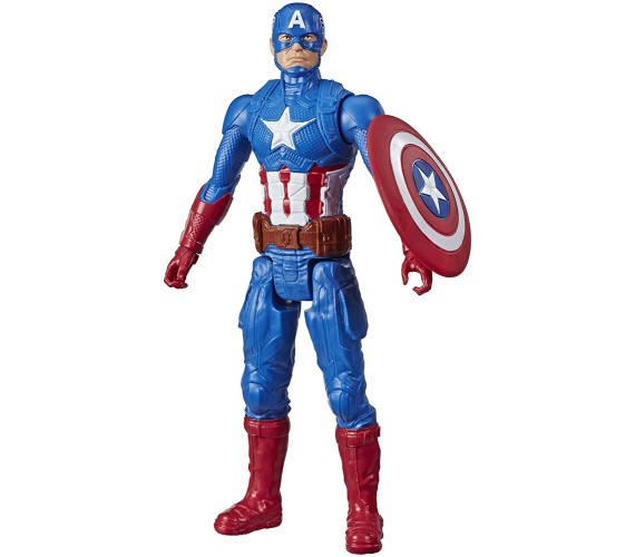 PP INFINITY Avengers Super Hero Captain America 10-Inch  Action Figure Toy For Kids Multicolor