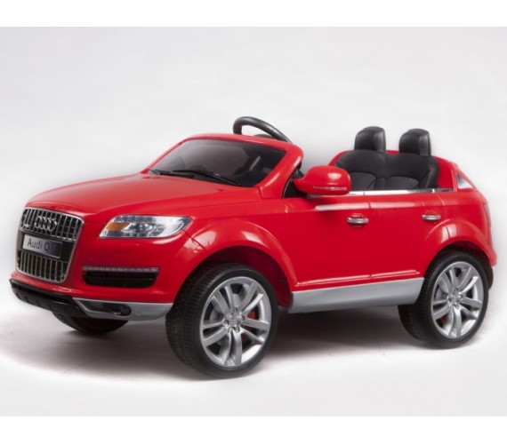 PP INFINITY Kids Audi Q7 Licensed Model 12V Battery Operated Ride On Car (Red)