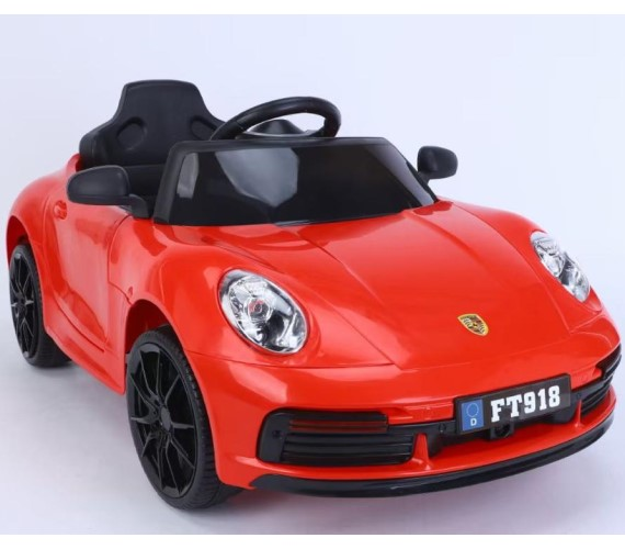 PP INFINITY 12V Battery Operated Ride On Car For Kids, Model FT-918 Car For Kids With Music System And Remote (1 To 5 Yrs)Multicolor
