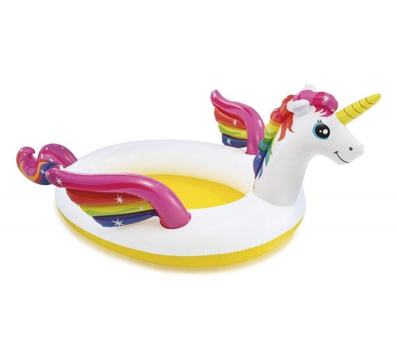 PP INFINITY Unicorn Spray Pool for Kids, Baby Swimming Pool Tub For Kids(Age 2 - 7)-Multicolor