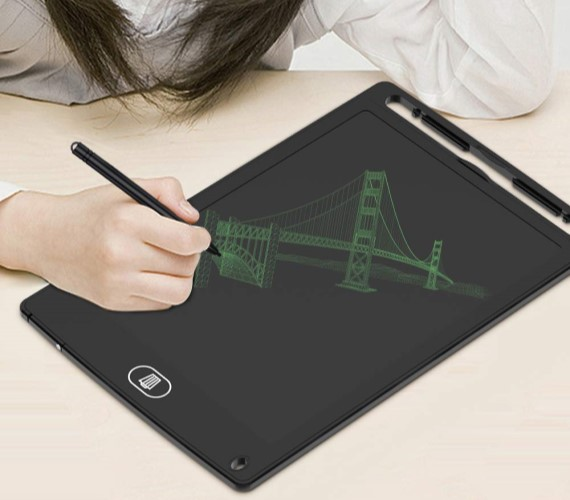 PP INFINITY Digital Writing tab for Kids (One Touch Remove) Go Paper-less