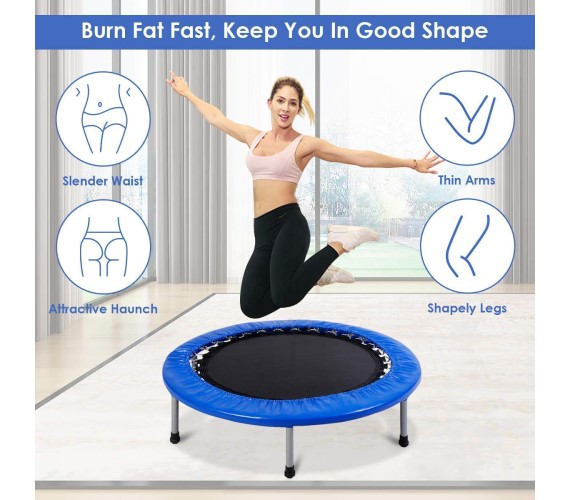 4Ft Trampoline for Kids , 4 feet Trampoline